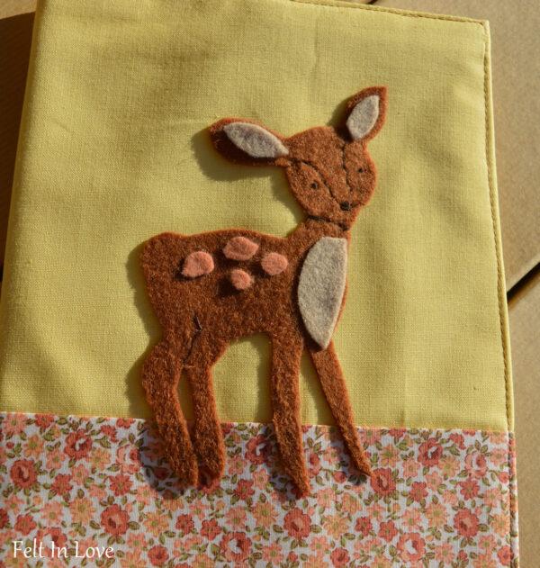 Θήκη για Βιβλιάριο Υγείας 'Little Deer'