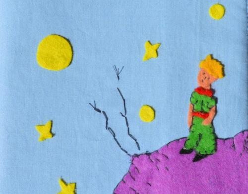 Θήκη για Βιβλιάριο Υγείας με θέμα 'The Little Prince'