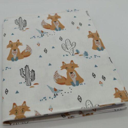 Θήκη βιβλιαρίου υγείας με θέμα ινδιάνα αλεπού