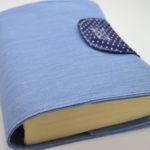 Θήκη για βιβλία γαλάζιο θέμα