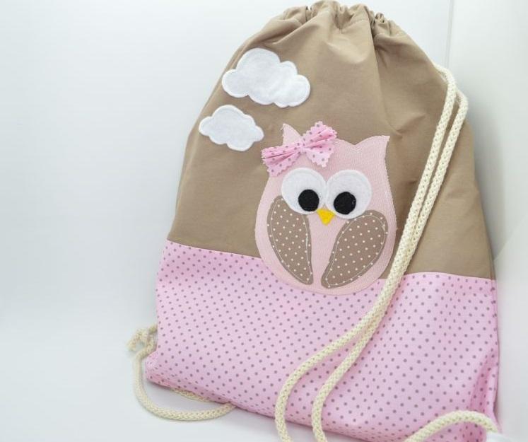 Παιδική Τσάντα πλάτης κουκουβάγια