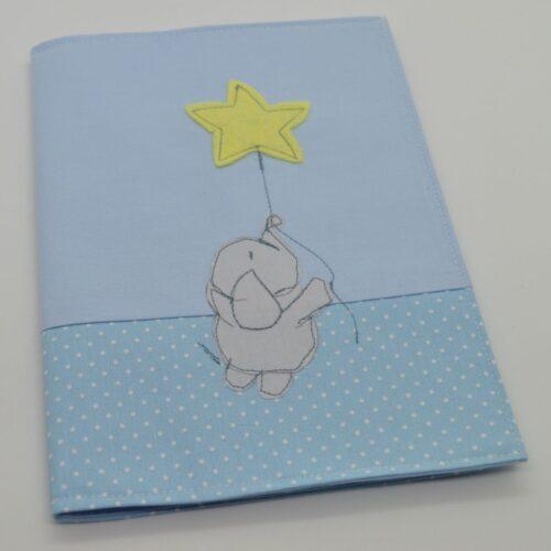 Θήκη βιβλιαρίου υγείας ελεφαντάκι με αστέρι