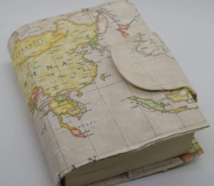 θήκη βιβλίου καφέ χάρτης