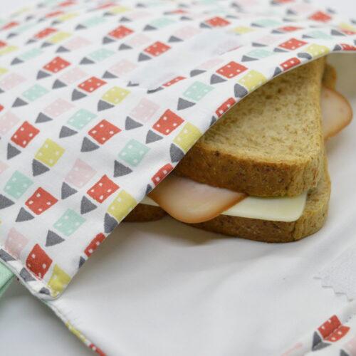 θήκη τοστ σνακ χαρούμενα σπιτάκια