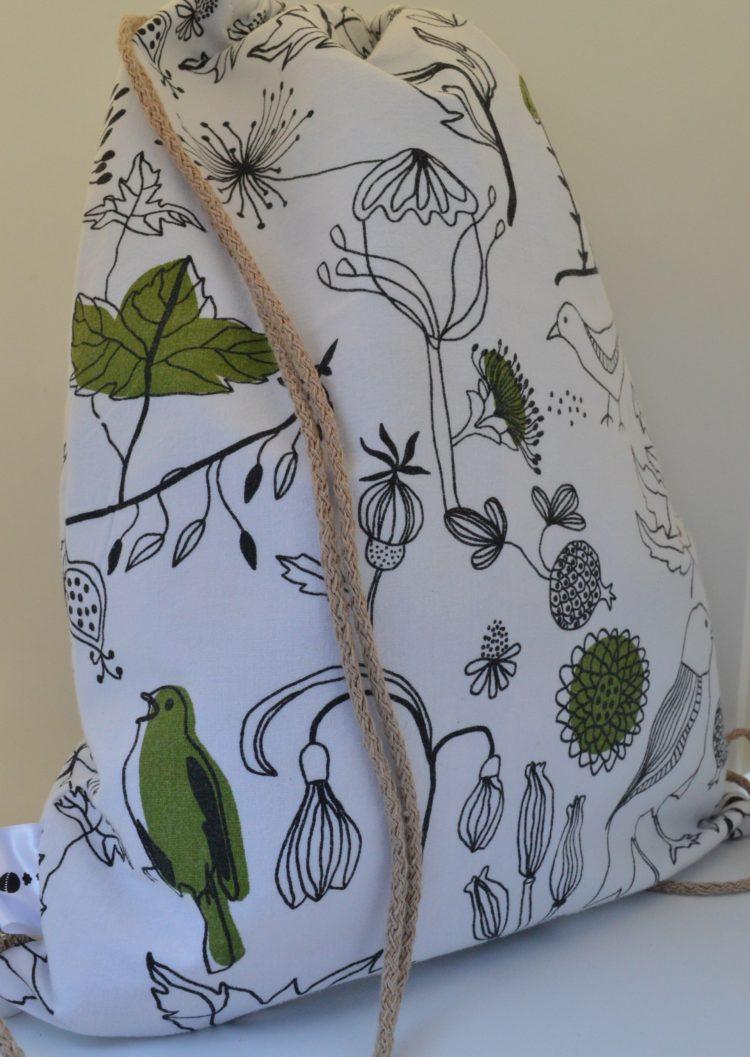 backpack ασπρόμαυρα σχέδια