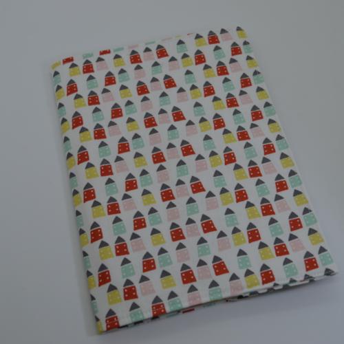 θήκη βιβλιαρίου υγείας πολύχρωμα σπιτάκια