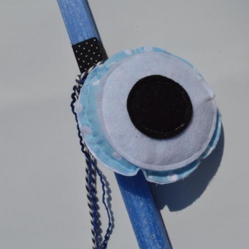 λαμπαδα γαλάζιο μάτι