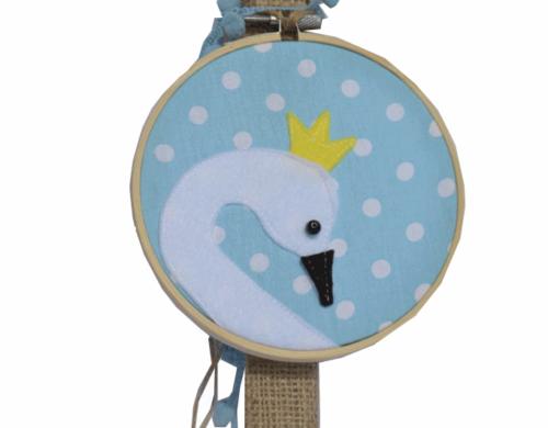 πασχαλινή λαμπάδα πρίγκηπας κύκνος