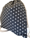 backpack-ασπρόμαυρα-αστεράκια