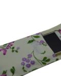 θήκη κινητού φλοράλ μωβ 4a