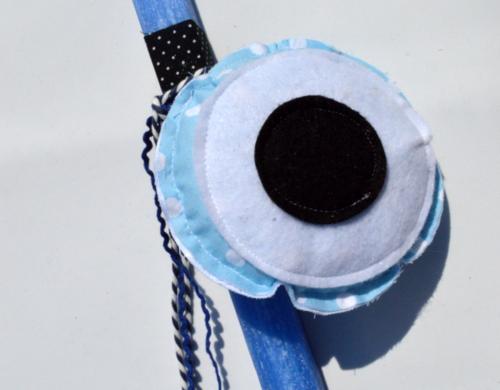 λαμπάδα γαλάζιο μάτι 1