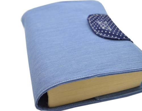 θήκη βιβλίου γαλάζιο 2a