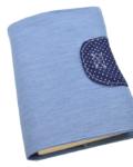 θήκη βιβλίου γαλάζιο a