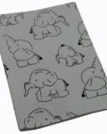 θήκη βιβλιαρίου υγείας ελεφαντάκι ασπρόμαυρο a