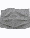 υφασμάτινη μάσκα γκλιτερ αστεράκια