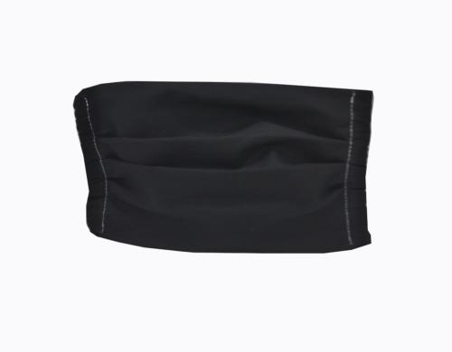 υφασμάτινη μάσκα μαύρη