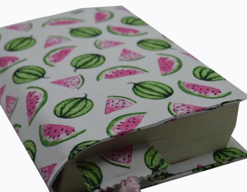θήκη βιβλίου καρπουζάκια