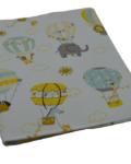 θήκη βιβλιαρίου αερόστατα με ζωάκια 3