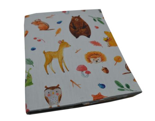 θήκη βιβλιαρίου ζωάκια του δάσους 3