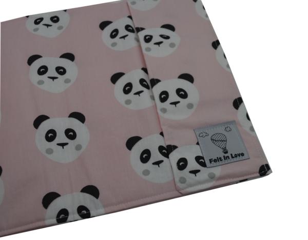 Θήκη βιβλιαρίου υγείας πάντα αρκουδάκι ροζ