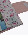 θήκη βιβλίου ροζ με τριαντάφυλλα 4
