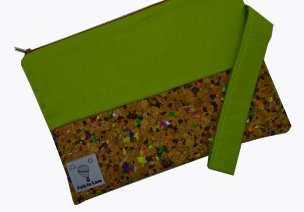 νεσεσερ με φελλό κομφετί πράσινο 3