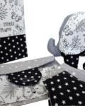 newborn gift ασπρόμαυρη ζούγκλα 1