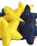 yellow star bonbonier