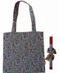 πασχαλινή λαμπάδα με τσάντα και scrunchies φλοραλ βεραμάν