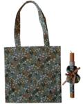πασχαλινή λαμπάδα με τσάντα και scrunchies φλοραλ χακί