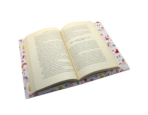 θήκη-για-μυθιστορήματα-μονόκεροι-ροζ-με-κάστρα