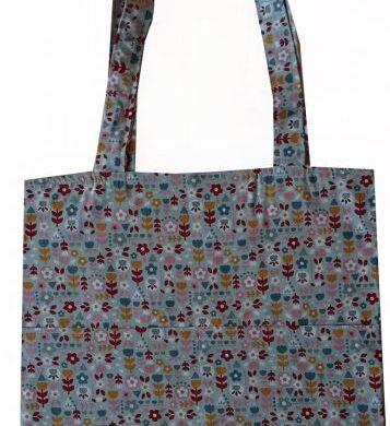 tote τσάντα βεραμαν φλοραλ